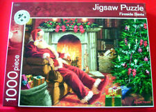 Richard Macneil FIRESIDE SANTA 1000 pc Jigsaw Puzzle Father Christmas/Claus/Tree