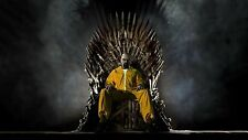 NEW RARE BREAKING BAD HEISENBERG GAME OF THRONES CROSSOVER POSTER