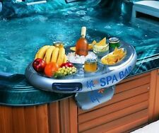 Life Inflatable Spa Bar - Floating Hot Tub Side Tray/Holder for Drinks & Snacks