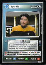 STAR TREK CCG VOYAGER RARE CARD HARRY KIM