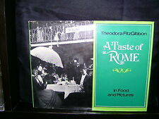 Taste of Rome: In food and Pictures - Theodora FitzGibbon - HCDJ