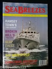 SEA BREEZES #658 - RAMSEY TOWN'S MINEHUNTER - OCT 2000
