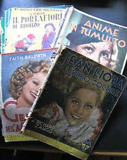 LOTTO 9 RIVISTE: ROMANZO DELLA PALMA, ROMANZO MENSILE, LA VELA ANNI '30-'50- A7