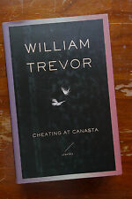 William Trevor: Cheating at Canasta first printing