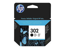HP Original f6u66ae Black Nº 302 for Deskjet 1110 21303630 Officejet 3830 4650