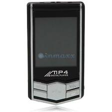 8GB Memory 1.8 inch Screen With FM Radio MP3 MP4 Player Black + Earphone
