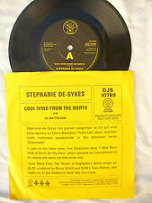 """STEPHANIE DE SYKES COOL WIND FROM THE NORTH / NO MATTER NOW uk demo / promo 7"""""""