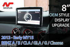 "Mercedes Benz MY13-MY15 A / B / CLA / GLA / G Class 8"" Monitor display upgrade"