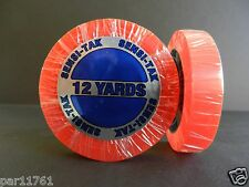 "ORIGINAL Walker Tape Brand SENSI-TAK Red Liner Tape Roll 1.0"" X12 yrd roll"