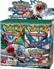 Pokemon XY Furious Fists Booster Packs- Factory Sealed - Free Shipping!