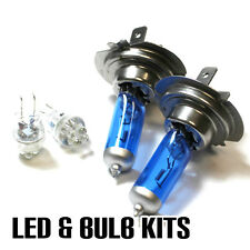 BMW 5 Series E60 520d H7 501 55w Super White Xenon Dip/LED Side Light Bulbs Set