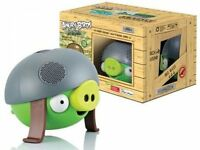 B-Ware: Gear 4 Angry Birds Helmet Pig, Docking Lautsprecher für iPod iPhone iPad