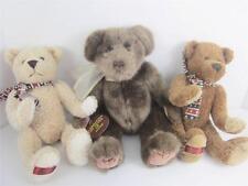 2002 Teddy Bear 100th Anniversary Set 3 Plush Dandee Collectors Choice Asst EXC