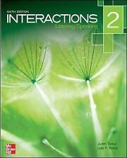Interactions Level 2 Listening/Speaking Student Book Plus Registration Code...