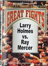 LARRY HOLMES VS RAY MERCER BOXING DVD - COLLECTORS EDITION
