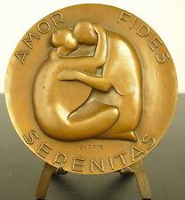 Médaille Amor Fides Serenitas amour foi & sérénité faith love & serenity Medal