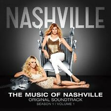 NASHVILLE - THE MUSIC OF NASHVILLE: SEASON 1 VOLUME 1 SOUNDTRACK CD ALBUM