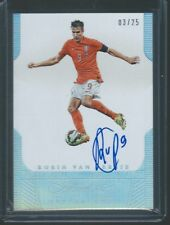 2015-16 Panini Flawless Soccer Robin Van Persie AUTOGRAPH auto #3/25 Netherlands