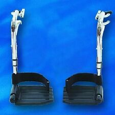 Invacare T93HC Foot rests for Tracer & 9000 Lightweight Wheelchairs NEW