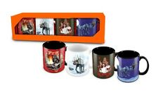 STAR WARS - Christmas - Tassen 4er Set - Coffee Mug - Kaffeebecher - Neu - Tasse