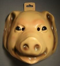 PIG FARM ANIMAL HALLOWEEN MASK PVC