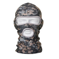 Camo Pattern Balaclava Full Face Mask Military Motorcycle Cycling Outdoor Sport