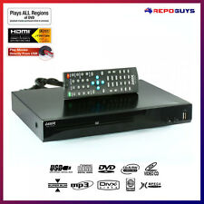 Laser DVD Player Slim HDMI RCA Composite AVI XVID USB input Multi Region HD 008