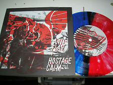 "Anti-Flag + Hostage Calm - split 7"" colored vinyl etched Run For Cover download"
