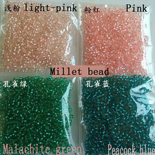 free 4000 pcs  4 color silver lined glass SEED BEADS jewelry making fashion
