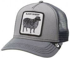 New Goorin Bros Mens Grey Black Sheep Trucker Hat