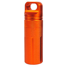 BIG Waterproof Pill Box Case Holder Container Metal Capsule Bottle Travel Size g
