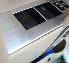 FIT FOR 2014- TOYOTA COROLLA ALTIS CHROME INTERIOR DOOR SWITCH PANEL COVER