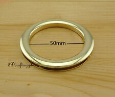 eyelets metal with washer grommets light gold round 2 sets 50 mm AT48