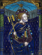 St Peter - Limoges enamel - emaille - Style of Master of the Orleans Triptych