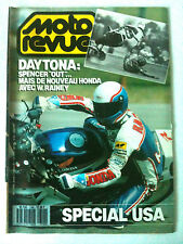 MOTO REVUE n°2790 du 03/1987; Daytona/ Spécial USA/ Choppers en délire/ Cross US