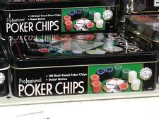 SET KIT FICHES poker chips gioco ottimo super prodotto 100% gioco tavolo