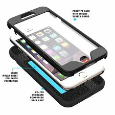 Revolution Shock Absorption Complete Protection Case for Apple iPhone 7 Black