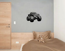 Monster Truck Car Vehicle Art Decal Sticker Picture Poster Decorate