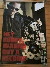 Tom Waits - Hey Buddy Wanna Buy A Record? RARE record store day poster LARGE