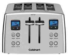 NEW Cuisinart CPT-435 4-Slice Wide-Slot Toaster with countdown timer