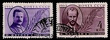 1935 RUSSIA #580-81 PORTRAIT TYPE OF 1933 - USED - VF - CV$8.75 (ESP#1954)