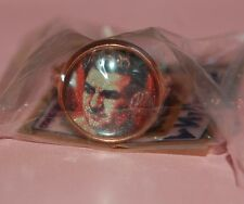 METAL RING ROCKY MARCIANO SPORT BOXING BOXER COLLECTIBLE MADE IN URUGUAY