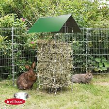 Bellissa Hay rack for rodents Rabbit Food hopper With Carrying Handle Manger
