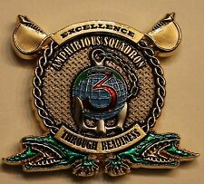 3rd Amphibious Squadron Gator Chiefs Navy Challenge Coin