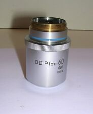 NIKON BD PLAN 60X BRIGHTFIELD DARKFIELD OBJECTIVE LENS