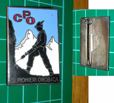 PIN IN SMALTO ALPINI CPO PIONIERI OROBICA NON COMUNE DISTINTIVO