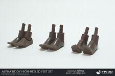 Triad Toys African American Female Heeled Feet Set