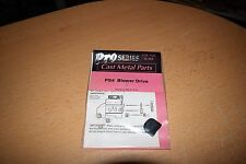 Garage Scenes Pro Series Cast Metal Parts 1/24 25 PS4 Blower Drive NEW SEALED