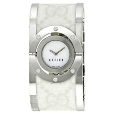 Gucci 112 Twirl Bangle Ladies Watch YA112419