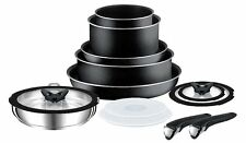 Tefal L0368042 Tefal Ingenio 13 Piece Sauce Pan Set Anthracite Grey Kitchen New